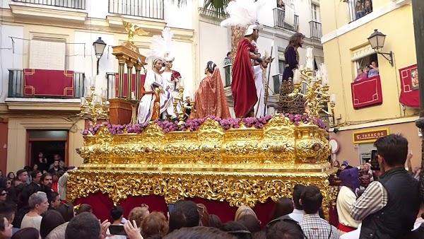 Sentencia de Cádiz se plantea cambiar su recorrido de ida el Miércoles Santo