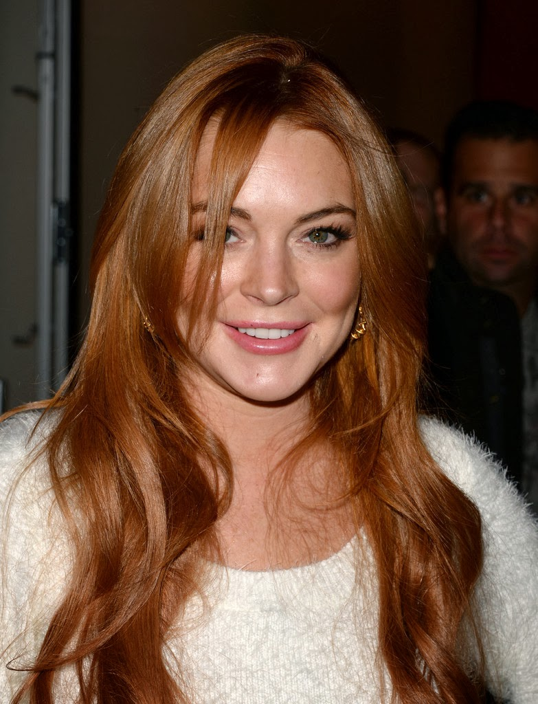 Lindsay Lohan gives onlookers an eyeful as she exposes ... |Lindsay Lohan First Movie