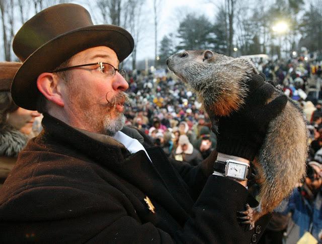 Groundhog Day o el Día de la Marmota