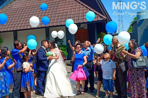 Mc Ming Ming - Mc Semarang - Benny & Ida Wedding 01 Jul 2018