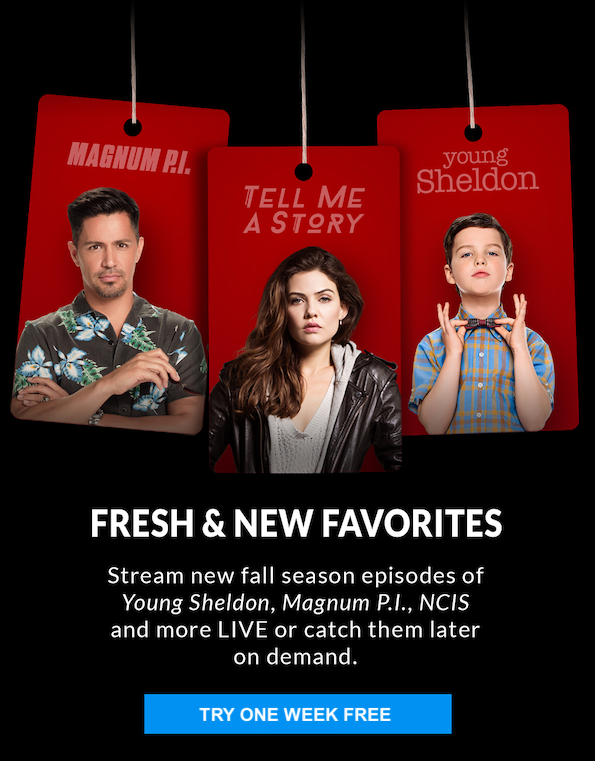 CBS ALL ACCESS Black Friday Deal - GET ONE MONTH FREE