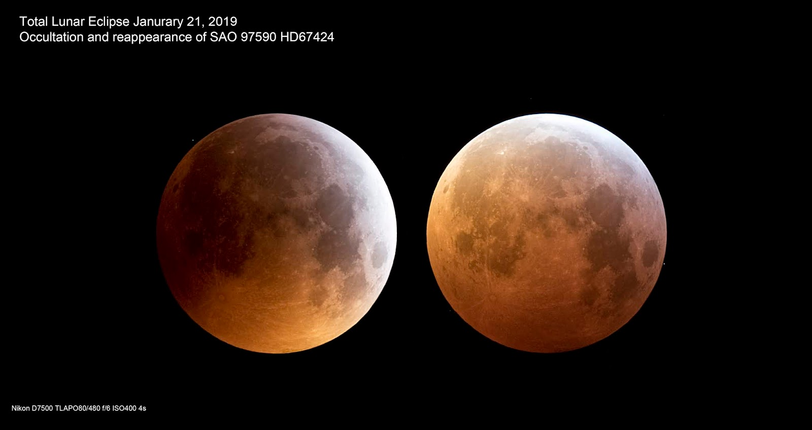 Pascal Hilkens Astro Page : Total Lunar Eclipse