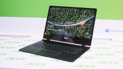 Acer swift 7 thinnest laptop