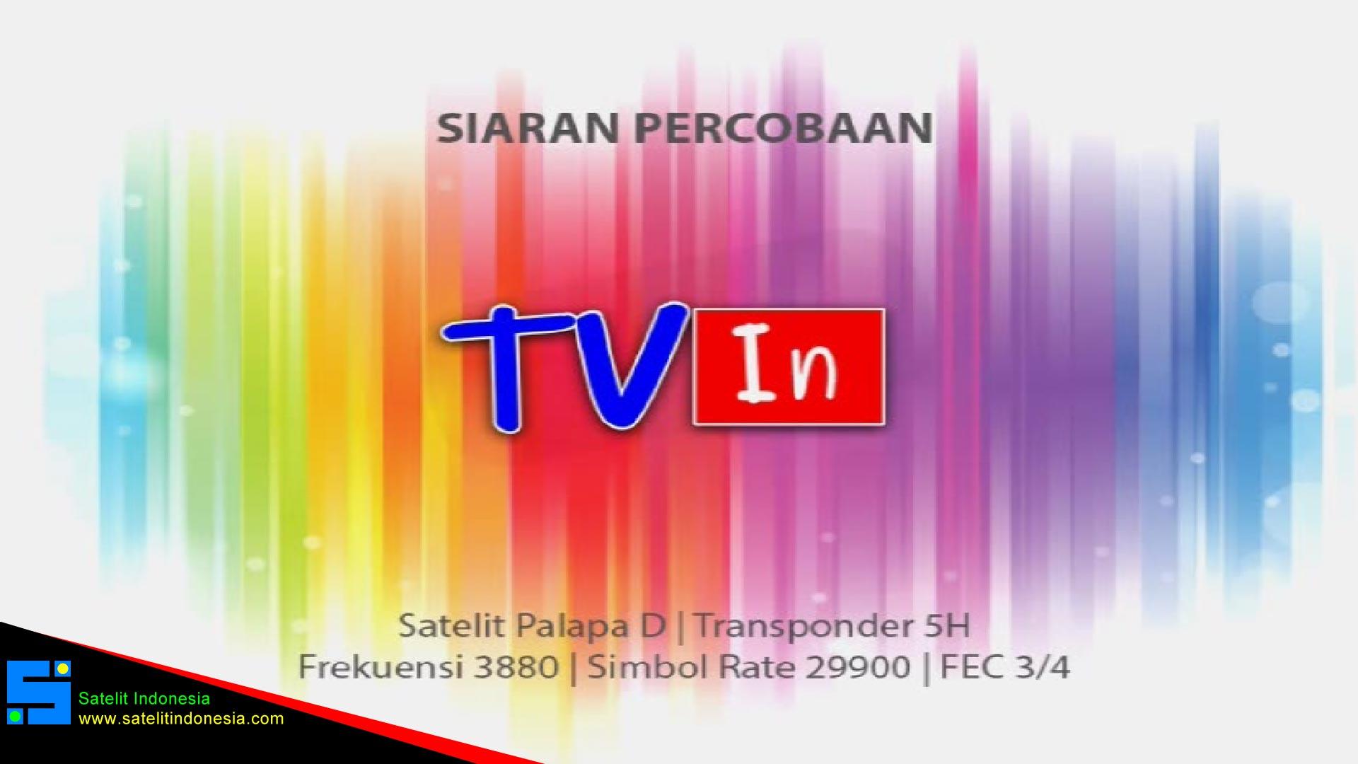 Frekuensi siaran TV In di satelit Palapa D Terbaru