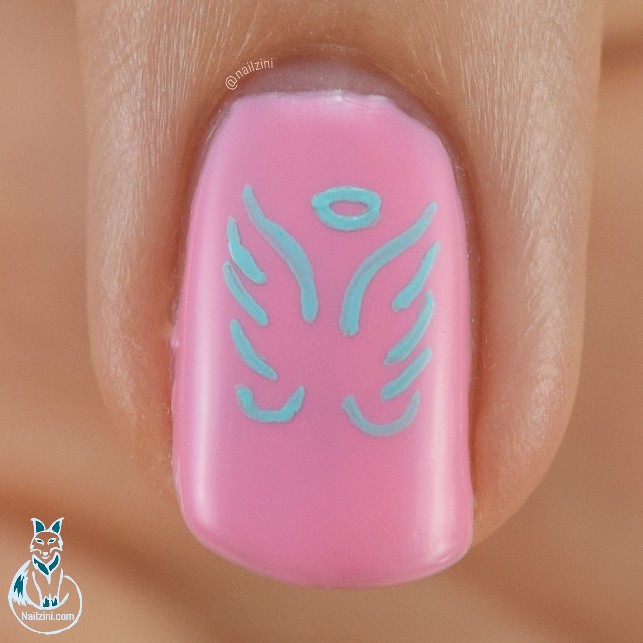 Angel Wings Madam Glam Nailzini