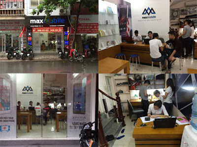 Maxmobile là trung tâm sửa chữa điện thoại, máy tính bảng uy tín