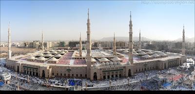 panorama masjid nabawi