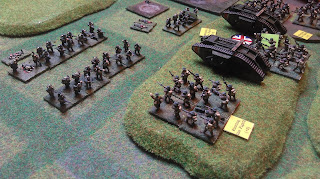 German reinforcements prepare to attack!