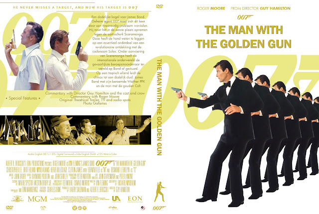 Capa DVD 007 The Man With The Golden Gun