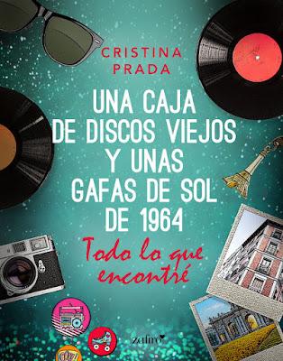LIBRO - Todo lo que encontré   Una caja de discos viejos y unas gafas de sol de 1964 Cristina Prada  (Zafiro - 31 Octubre 2017)  Novela Romántica - Literatura  COMPRAR EN ESTE LIBRO EN AMAZON ESPAÑA