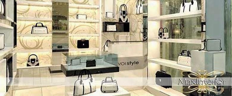 desain butik minimalis, interior toko