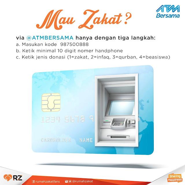 Berbagi Melalui ATM Bersama
