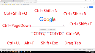 Important shortcut key for Chrome browser,New Useful Shortcut key of Chrome Browser Definitely You Don't Know,new shortcut key of chrome,2017 shrotcut key of chrome,latest shortcut key,browser shortcut keys,google chrome shortcut key new 2017,how to use shortcut key,microsoft edge,firefox,safari,chrome tips & tricks,hidden feature,new feature of chrome browser,chrome browser shrotcut key new,all shortcut key of chrome browser,youtube,keyboard shortcut key,webpage shortcut key Important shortcut key for Chrome browser   Click here for more detail..    Ctrl+Shift+Delete Clear browsing data Ctrl+T Open a new tab Ctrl+Shift+T Reopen closed tab Shift+Esc Open Chrome task Manager Drag Tab Open in new Window Ctrl+Shfit+J Open developer tool Ctrl+End Go to page end Ctrl+Home Go to page Home Alt+F Open Menu Ctrl+U Open HTML Source Ctrl+PageDown Move next tab Ctrl PageUp move previous tab Ctrl+H Show history Ctrl+J Open Downloads window  Ctrl+D Bookmarks Ctrl+Shift+B Show & Hide Bookmarks Ctrl+N Open New Window Ctrl+Shift+N Open Incognito window Ctrl+Enter Add www.com Ctrl+W Close current tab Ctrl+L Go to Address Bar Ctrl+S Save Ctrl+Shift+Q Close all