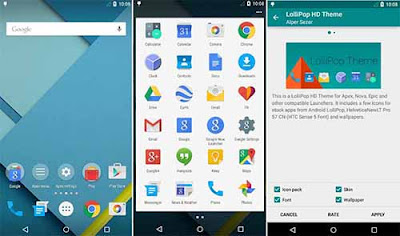 Apex Launcher - Cara Mengganti Tema Android