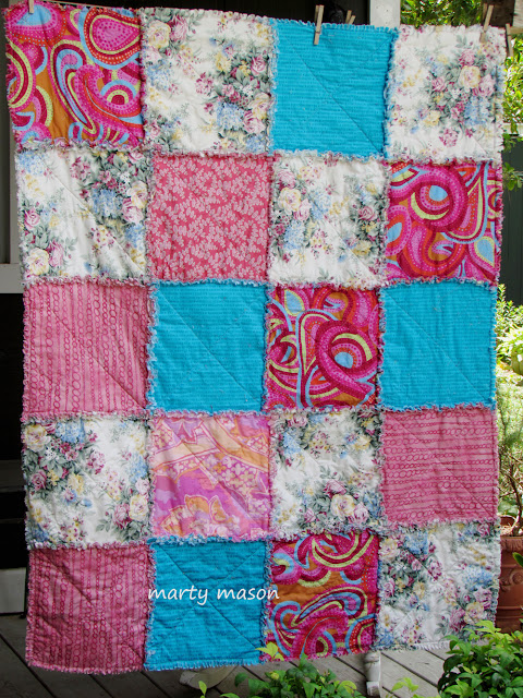 Rag Quilt donated to community service