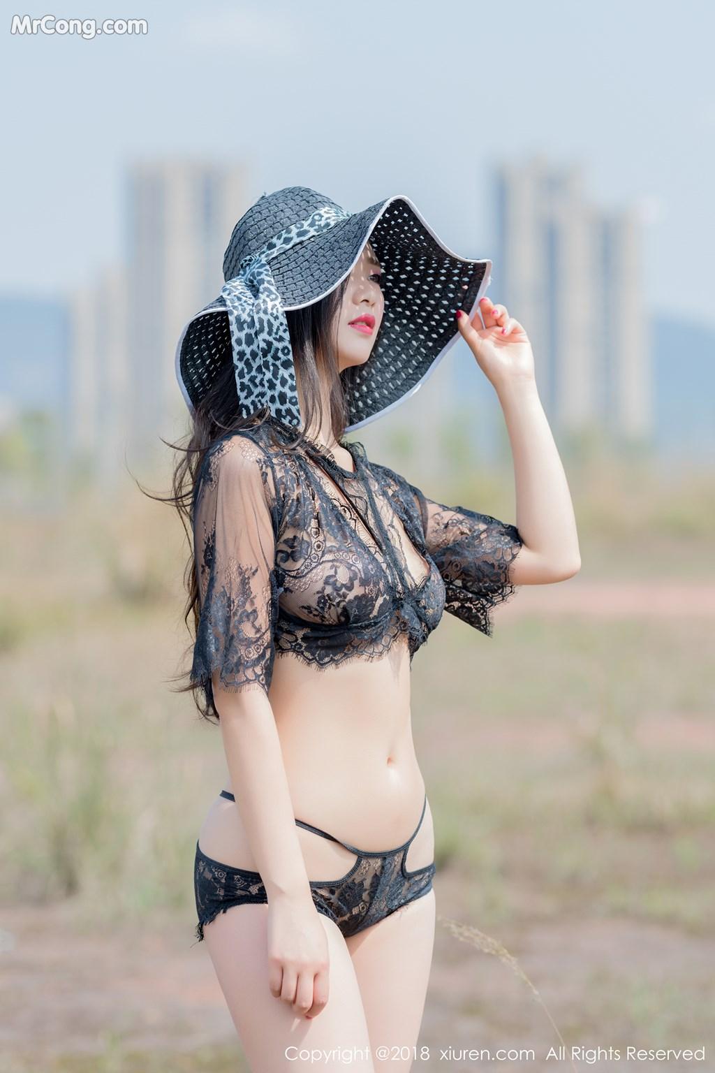Image XIUREN-No.1058-KiKi-MrCong.com-007 in post XIUREN No.1058: Người mẫu 宋-KiKi (36 ảnh)