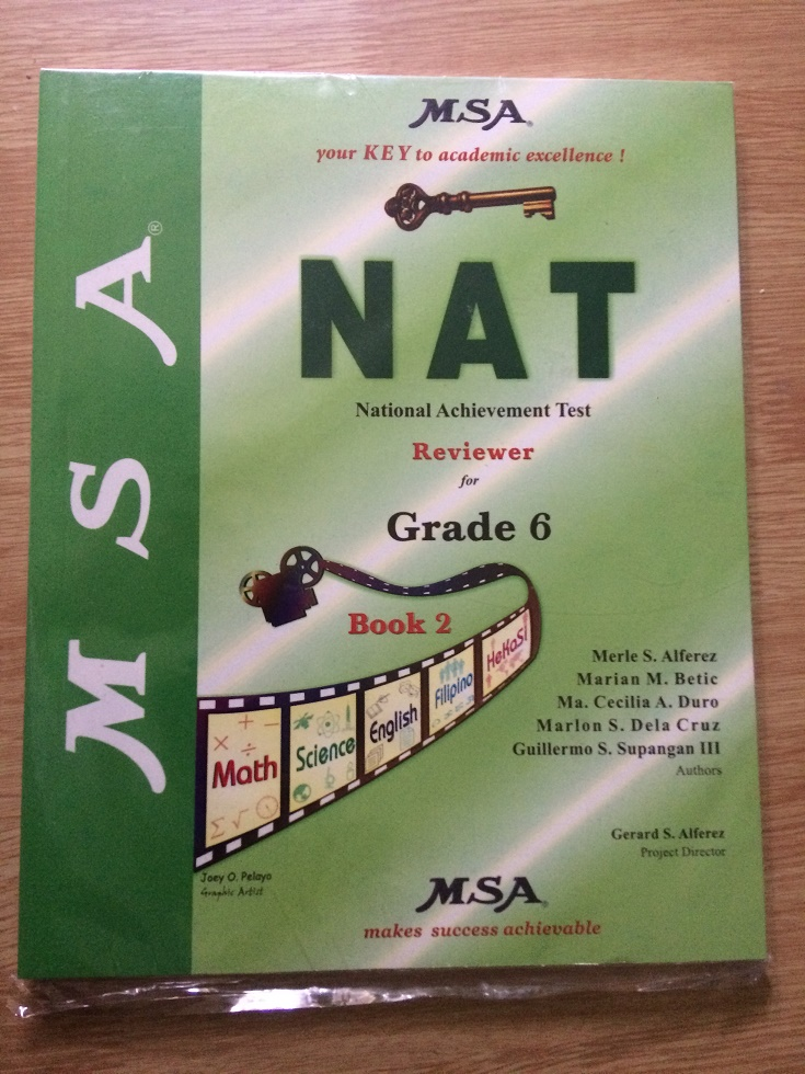 National Achievement Test Nat Reviewer For Grade 6