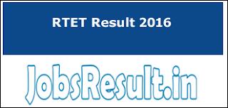 RTET Result 2016