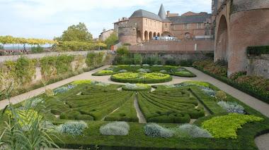 Jardines del Museo Toulouse-Lautrec