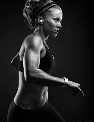 Kathleen Tesori exercising