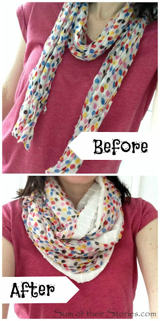 fuller scarf quick sew trick