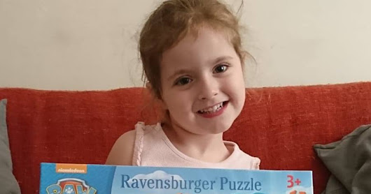 Ravensburger Paw Patrol Four Large Shaped Puzzles - Review