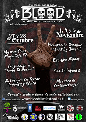 Blood Film Festival, X aniversario