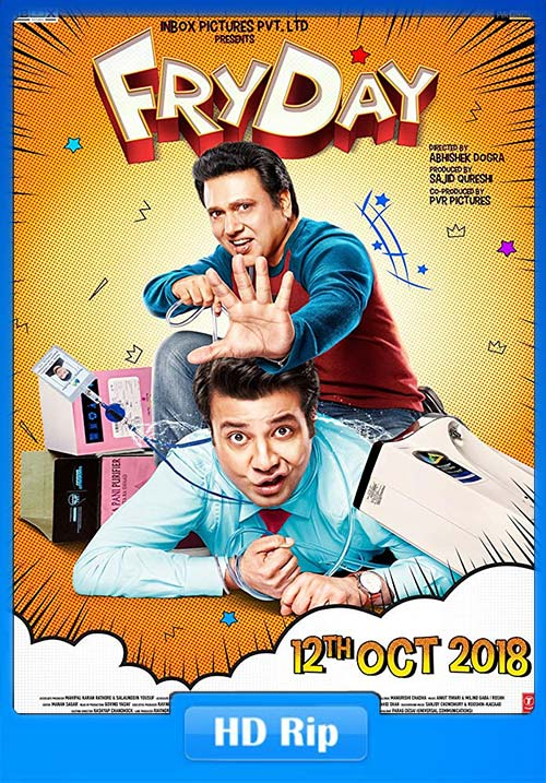 FryDay 2018 Hindi HDRip x264 | 480p 300MB | 100MB HEVC