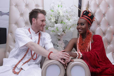 Beautiful Photos of an English Groom and his Family in Nigeria to marry his Nigerian Wife