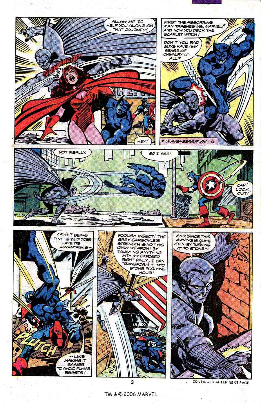 Avengers #191 marvel 1980s bronze age comic book page art by John Byrne