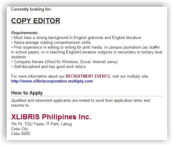 Application letter for scholarship tagalog to english