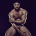 A naked Thom Evans is being auctioned off to raise money for Terrence Higgins Trust