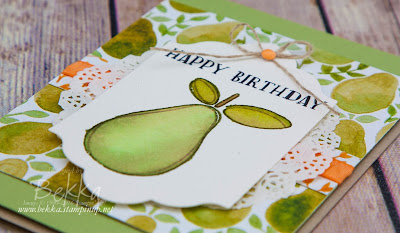 Perfect Pair Birthday Card Featuring the Suite of the Week - Fruit Stand from Stampin' Up! UK