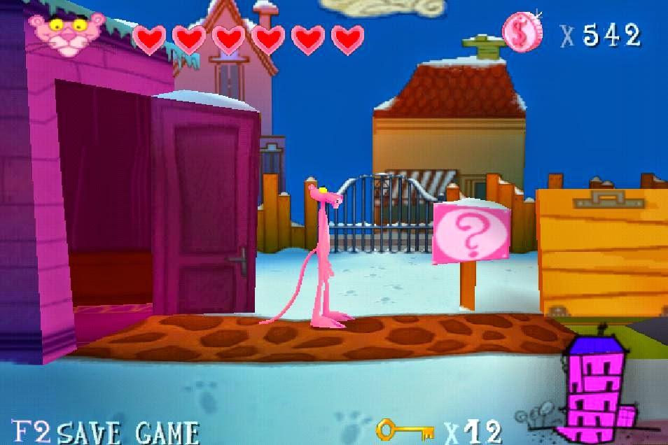 تحميل لعبة النمر الوردي برابط واحد.
