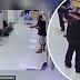 Lelaki 'serang' balai polis dengan pisau, namun anggota polis ini berjaya menenangkannya