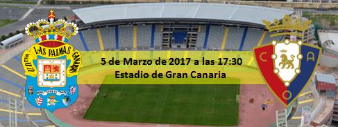 Previa UD Las Palmas - CA Osasuna 5 Marzo 17:30