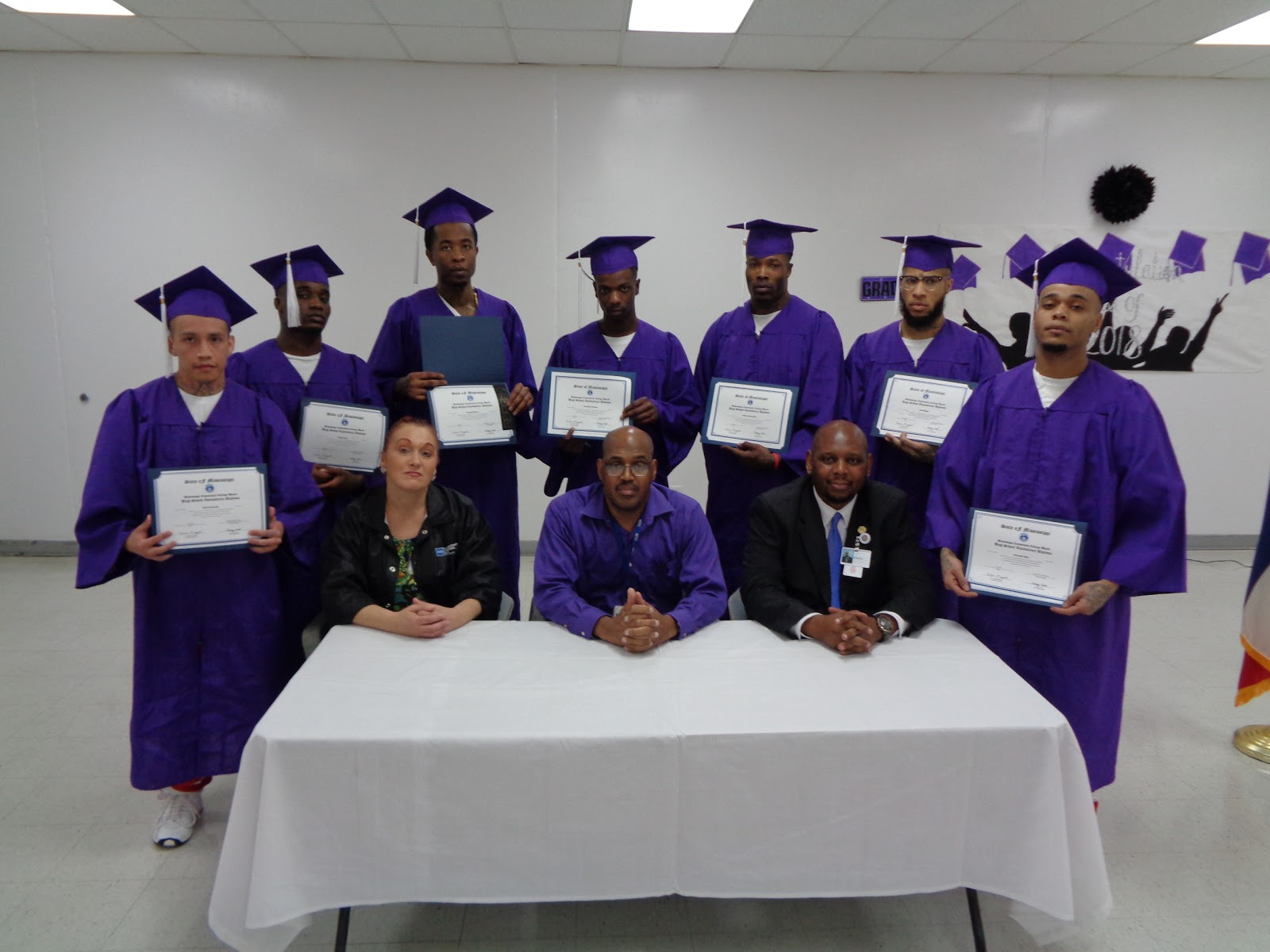 roscoe reporting wilkinson prison holds ged graduation