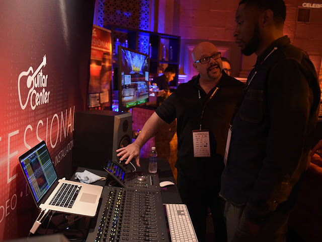 gc pro, grammy week, recording academy, avid S3 demonstration
