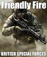 friendly fire - british special forces