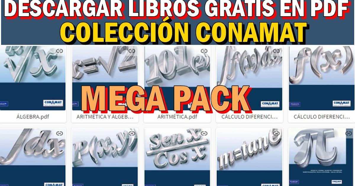 DESCARGA GRATIS LOS LIBROS DE LA COLECCIÓN CONAMAT EN PDF