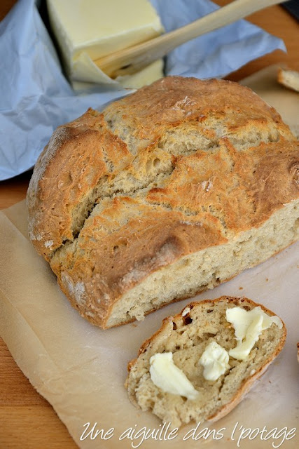 Irish soda bread (pain express)