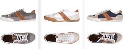 Zapatillas de piel de Mexx