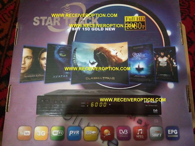 STAR TRACK SRT 150 GOLD NEW HD RECEIVER BISS KEY OPTION