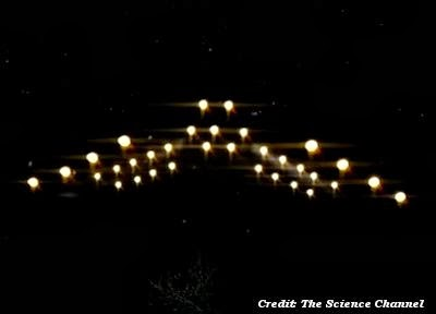 Phoenix Lights Craft By Close Encounters (Front View)