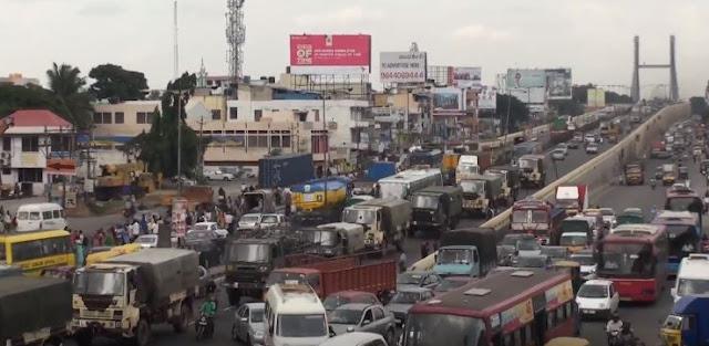 Bengaluru traffic jam