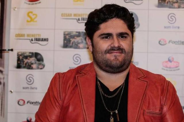 César Menotti fala mal do samba e pedi desculpas aos internautas
