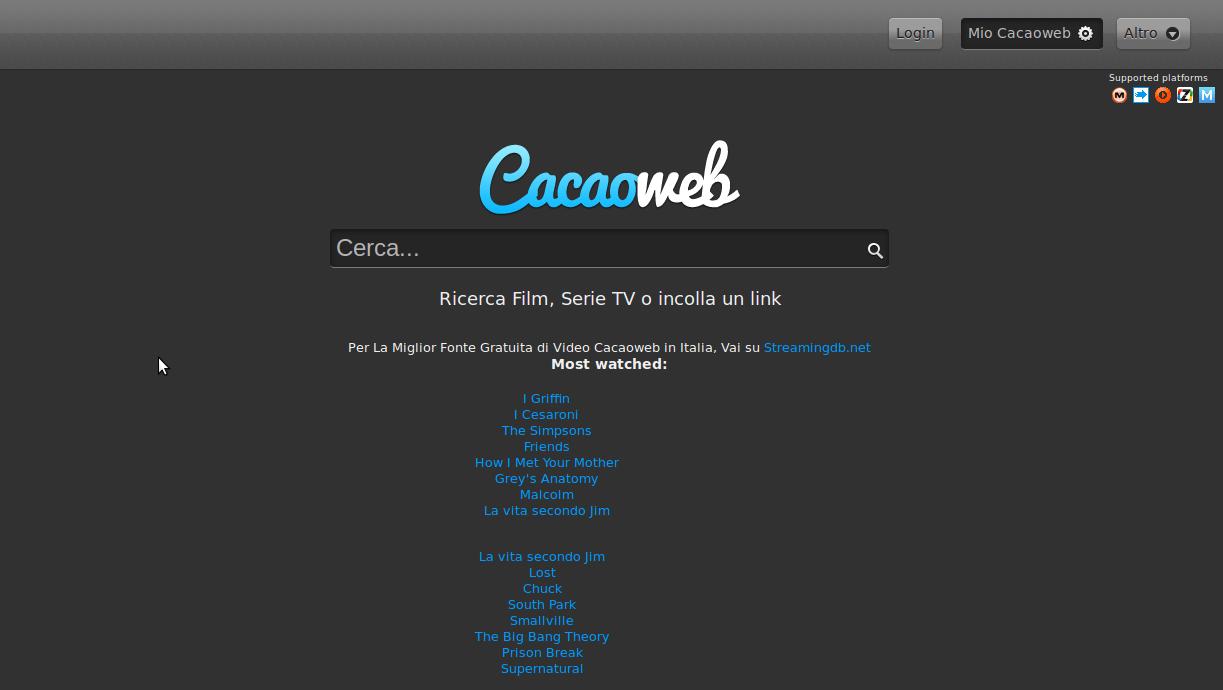 cacaoweb linux