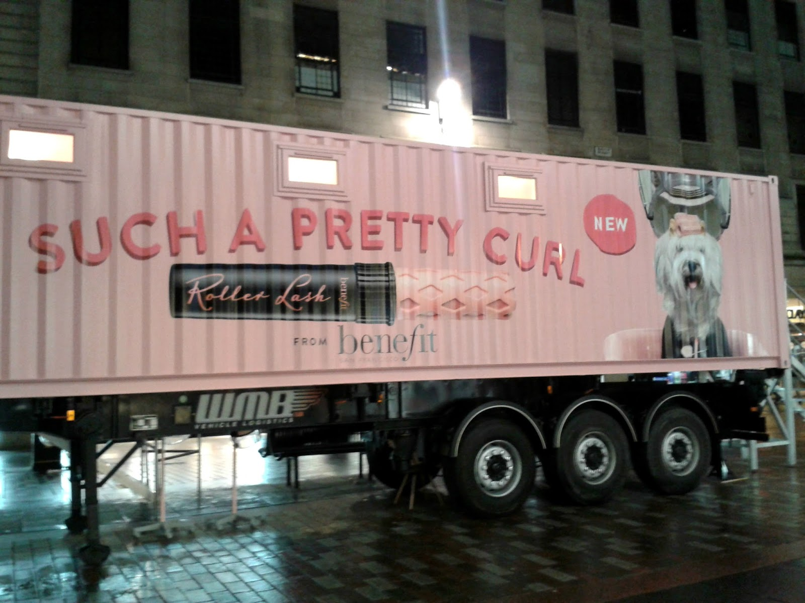 Benefit Roller Lash Launch Event Glasgow Truck