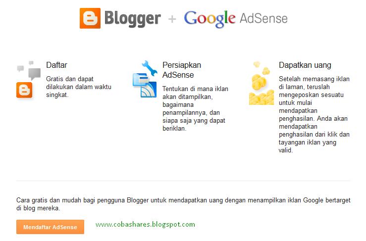 cara siapkan blog buat daftar google adsense