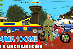 GTA SA Lite Indonesia Mod Apk + Data (Work for All GPU) Only 100 MB